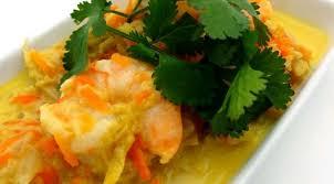 cuisine chou curry de crevettes au chou vert la tendresse en cuisine