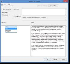 Automate fice Themes Using Group Policy