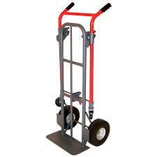 Shop Milwaukee 800-lb Capacity Red Steel Convertible Hand Truck At ...