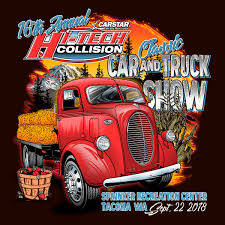 100 Truck Show HITECH Collision Classic Car Pierce County WA