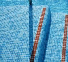 best glass mosaic tile pool mosaic sky blue color mosaic tile