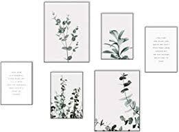 elafi premium poster set groß posterset als deko für schlafzimmer bilder mit sprüche wohnzimmer deko posterset 6x 2x dina3 4x dina4 ohne