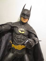 Long Halloween Batman Figure by The Epic Review 1 4 Scale Michael Keaton Batman From Batman 1989