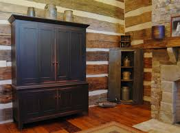 Central Kentucky Log Cabin Primitive Kitchen Eclectic PrimitiveCountry Living Room Country Inside Furniture