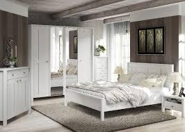 schlafzimmer komplett weiss landhausstil möbilia