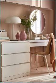inspiration für ein schlafzimmer in braun rosa white