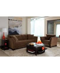 elliot fabric microfiber sofa custom colors furniture macy s