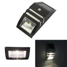 bright outdoor 4 led wireless solar motion sensor lights