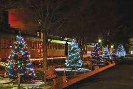 Christmas Tree Hill Shops Lancaster Pa by The Night Before Christmas Train Strasburg Rail Road