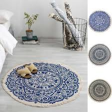 teppiche vintage teppich baumwolle leine modern wohnzimmer
