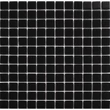 Black Crystal Glass Mosaic Tiles Kitchen Backsplash Design Bathroom Wall Floor Shower Free Shipping