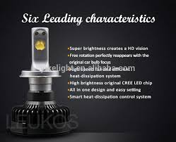 new arrival h4 connector bulbs white 6000k h4 hi low beam