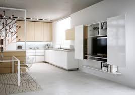 tv dans cuisine créez un beau style de votre salle de séjour avec un meuble tv laqué