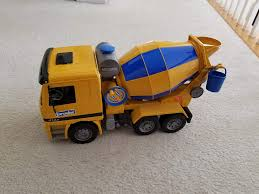 Find More Bruder Cement Mixer For Sale At Up To 90% Off Bruder Man Tgs Cement Mixer Truck 03710 Toyworld Buy Man Bruder Mack Granite Mixer Abs Synthetics Toy Vehicle Model Mercedes Benz Actros Designed Wrealistic 03554 Cstruction Scania Rseries 03654 Mb Arocs Peters Of Kensington Find More Great Shape Has Real Working