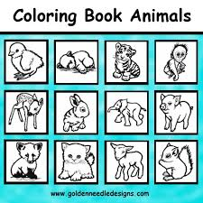 Coloring Book Animals Collection