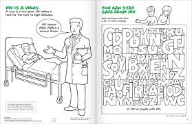Product Image Learning About HIV And AIDS A Coloring Activities Book 83083