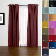 Burgundy Grommet Blackout Curtains by Chic Burgundy Blackout Curtains Insulated Thermal Blackout