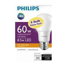 philips new 60 watt equivalent a19 led light bulb soft white