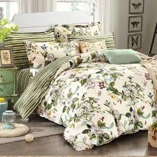 großhandel winlife floral bettwäsche amerikanischen landhausstil bettbezug set schäbig vintage schlafzimmer set mädchen bettdecke 100 coon bett