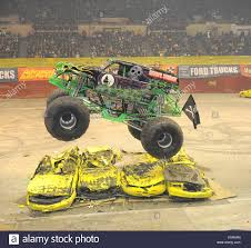 The Grave Digger At Monster Jam. The Monster Jam Monster Truck Show ...