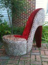Handmade Leopard & Red High Heel Shoe Chair. $179.00, Via ... Fun Leopard Paw Chair For Any Junglethemed Room Cheap Shoe Find Deals On High Heel Shaped Chair In Southsea Hampshire Gumtree Us 3888 52 Offarden Furtado 2018 New Summer High Heels Wedges Buckle Strap Fashion Sandals Casual Open Toe Big Size Sexy 40 41in Sofa Home The Com Fniture Dubai Giant Silver Orchid Gardner Fabric Leopard Heel Shoe Reelboxco Stunning Sculpture By Highheelsart On Pink Stiletto Shoe High Heel Chair Snow Leopard Faux Fur Mikki Tan Heels Clothing Shoes Accsories Womens Luichiny Risky