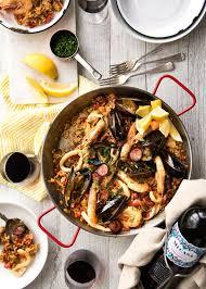 what cuisine paella recipetin eats