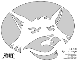 Totoro Pumpkin Carving Patterns by Fox Pumpkin Carving Patterns Patterns Kid