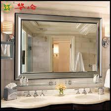 wall mirrors lighted bathroom wall mirror large bathroom wall