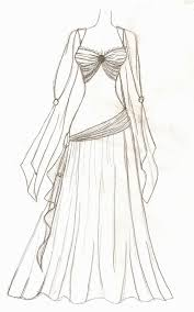 Anime Dress Designs Drawings Images Free Download