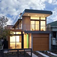 Luxury Two Stories Modular Homes With Minimalist Style Exterior Design Ideas