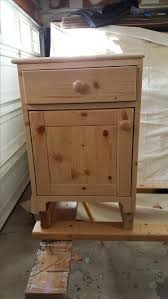 Knotty Pine Bedroom Furniture by Hand Made Knotty Pine Night Stand By Wooden It Be Nice