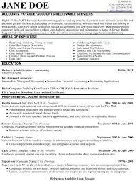 Account Resume Samples Payable Sample Template Regarding
