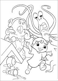 Full Image For Monster Inc Coloring Pages 42 Kids Printables Disney Monsters