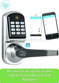 Nfc Locks Door Front Door Lock Smart Lock Smart Lock Manufacturers