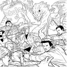 Dark Horse Appeals To Buffy Fans New Adult The Vampire Slayer Colouring Book Is Out Now