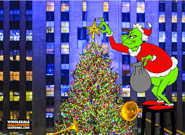 The Grinch Xmas Tree by The Grinch In Nyc Wholesale Halloween Costumes Blog