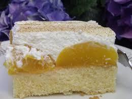 schmandkuchen mit pfirsichen nicht so süß