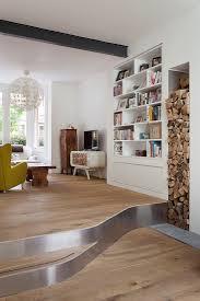 eklektizistisch möblierter wohnbereich bild kaufen