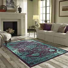 Teal Living Room Rug by Teal Rug Ebay