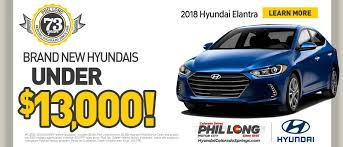 Phil Long Hyundai Dealership In Colorado Springs At Motor City