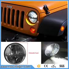 2pcs and play high low beam 7inch 20w led headlight for