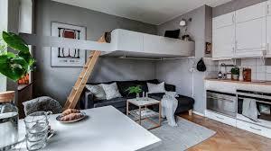 100 Small Loft Decorating Ideas Black Interiors Apartment Room Living White