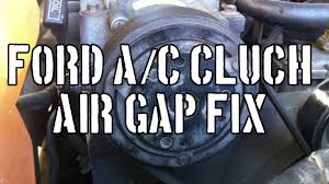 Ford How To: Fix Air Conditioning Clutch (Air Gap) - YouTube Air Cditioning Wilmington Nc Repair Ford How To Fix Clutch Gap Youtube It Cool Heating 2214 Lithia Pinecrest Rd And Heating Repair Service Replacement In One Hour Closed Maryland Grove Cooling Blog Cditioner Houston Refrigeration Before You Call A Ac Man Comfoexpertsacrepair Comfort Experts Tomball Sacramento Fox Family