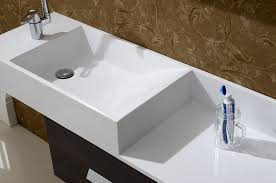 aquamoon icon white collection modern sink bathroom