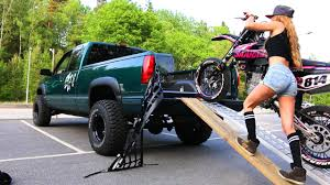 100 Truck Bed Motorcycle Lift Saaraazh How To Load A Into A Girl Edition