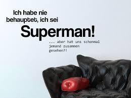 wandtattoo superman superhelden spruch wandtattoo de