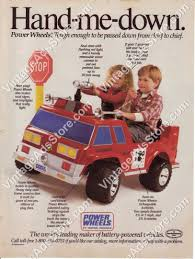 100 Power Wheels Fire Truck 1988 Toys Pedal Car Little Boys