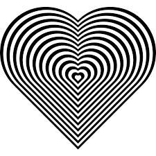 Coloring Page Heart Mandalas 23
