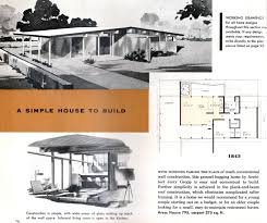 100 Mid Century Modern Home Floor Plans With Regard To House