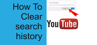 How to clear my youtube search history